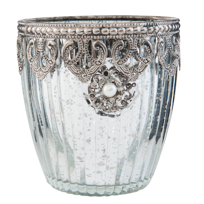 Zdobný svietnik na čajovú sviečku - ∅ 10 * 10 cm