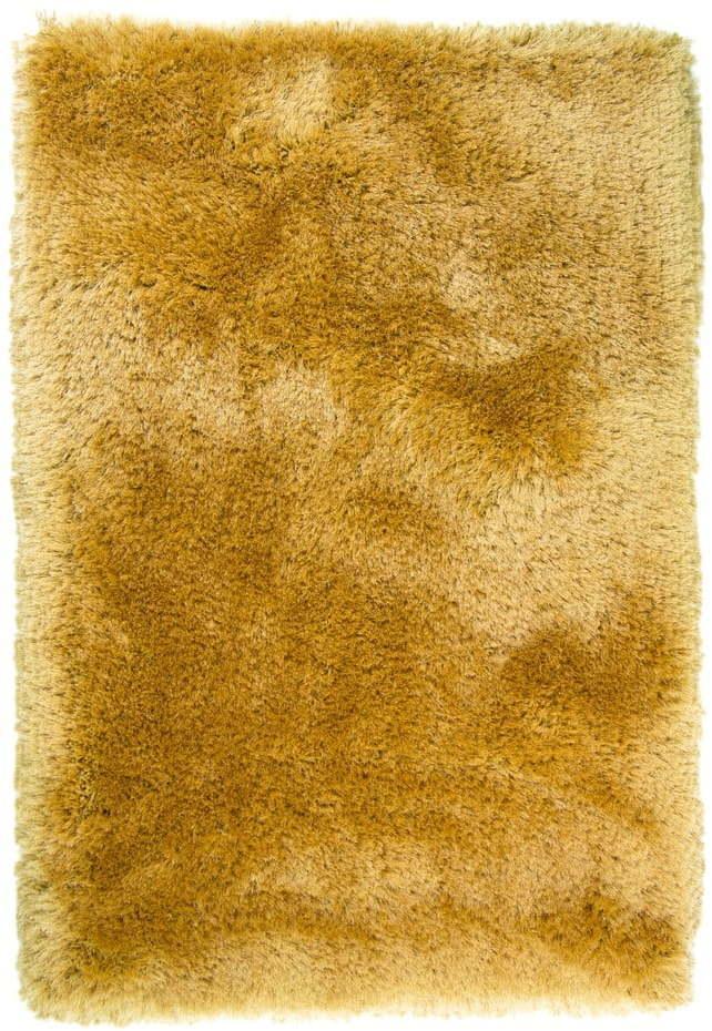 Žltý koberec Flair Rugs Pearls, 160 x 230 cm
