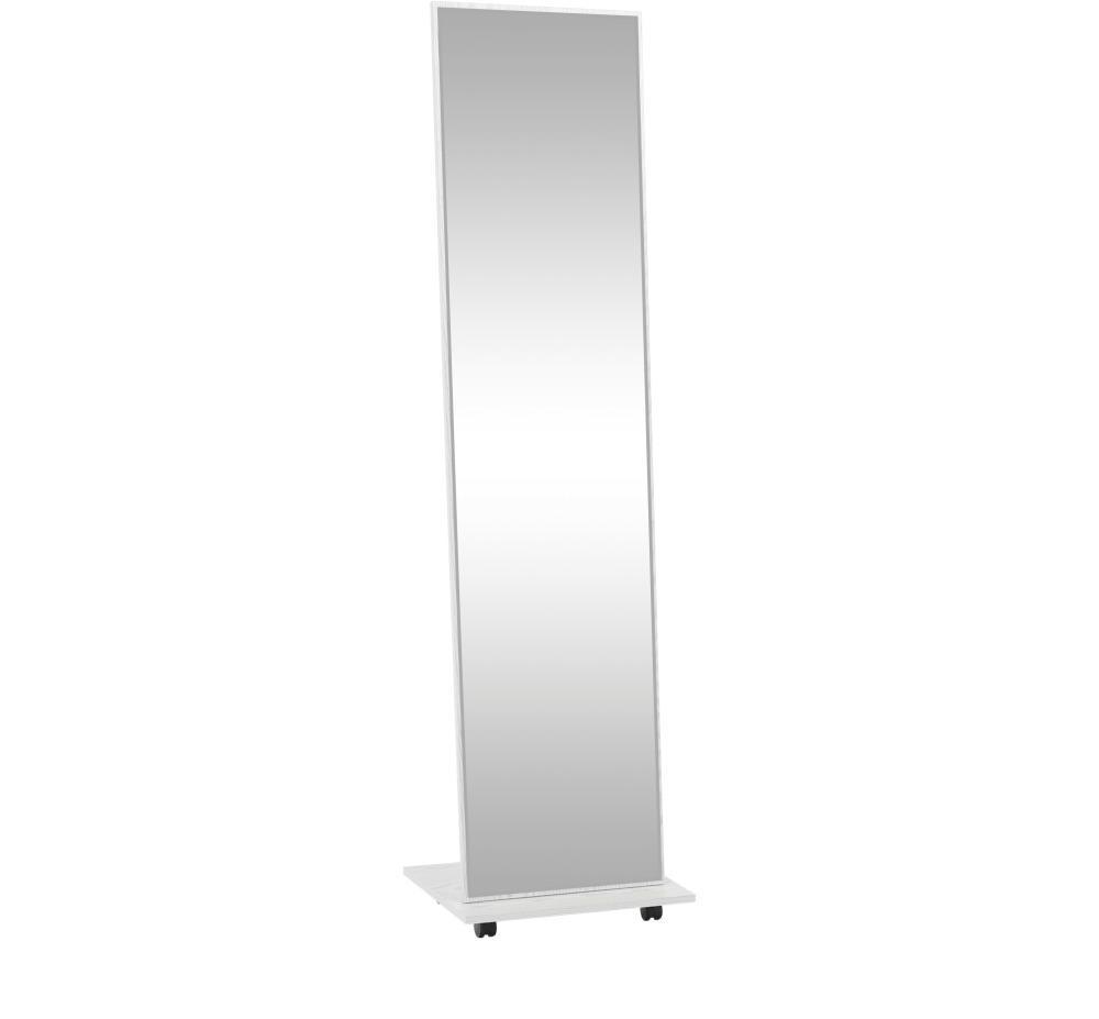 Zrkadlo na kolieskach, biela, NEPTUN