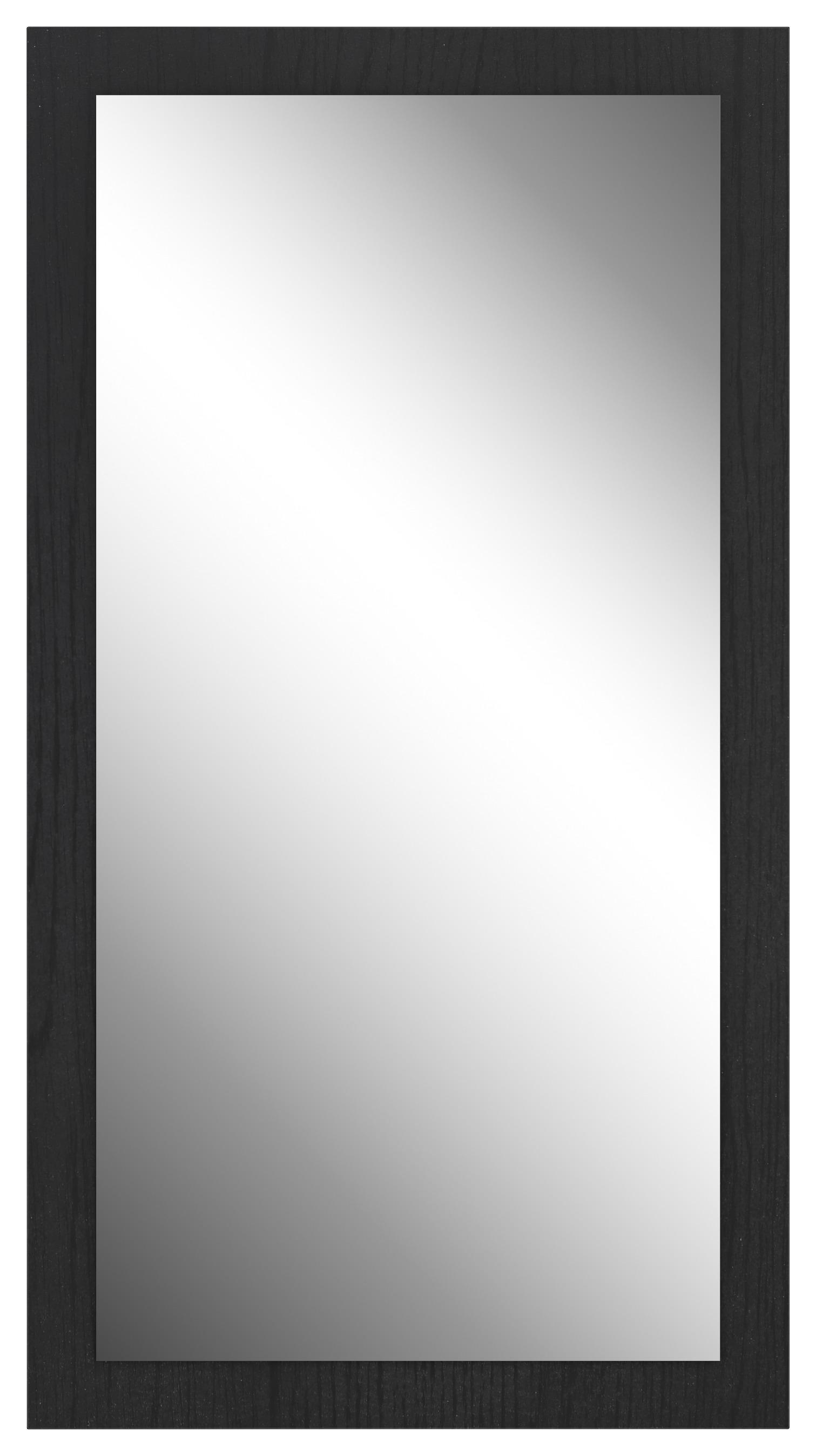 Zrkadlo Trondheim Čierne