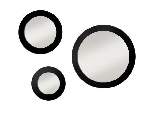 Zrkadlo v ráme Gaudia Bold Trio 35x45x65cm 019BTR