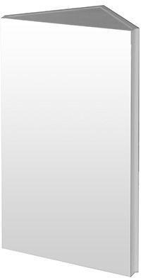 Zrkadlová skrinka závesná rohová bez osvetlenia Arris ZS | A-Interiéry arris zs